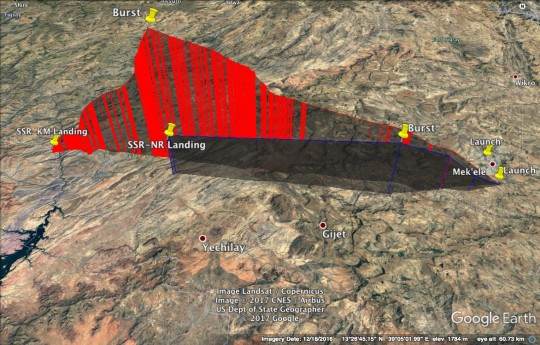 SSR Ethiopia Flight Profile
